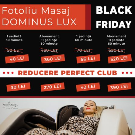 Black Friday postari perfect siluette black friday 444x444